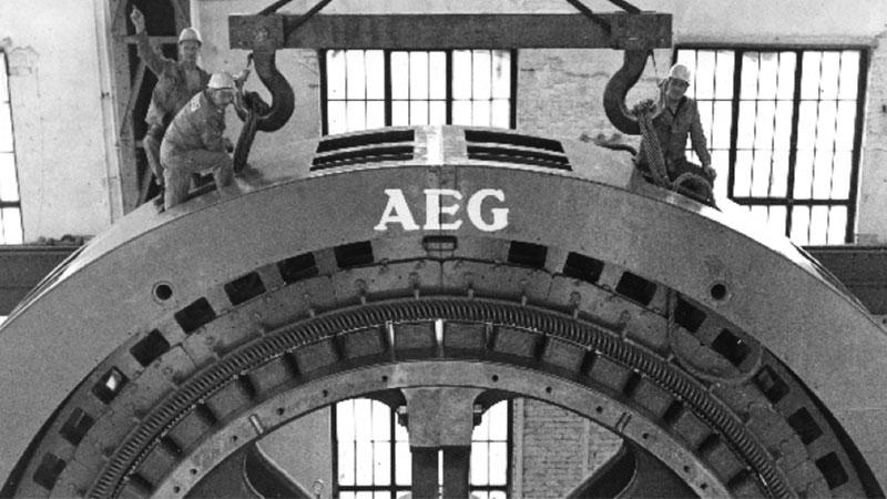 تاریخچه لوازم خانگی آاِگ – AEG